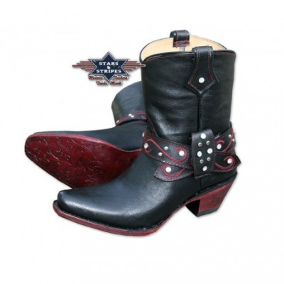 Westernboots aus Rindsleder (WBL-23) von Stars and Stripes