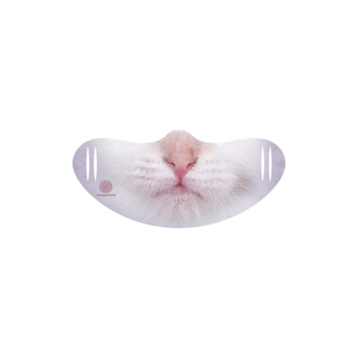 Gesichtsmaske White Cat