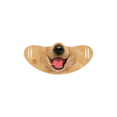 Gesichtsmaske Golden Retriever