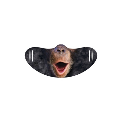 Gesichtsmaske Happy Chimpanse